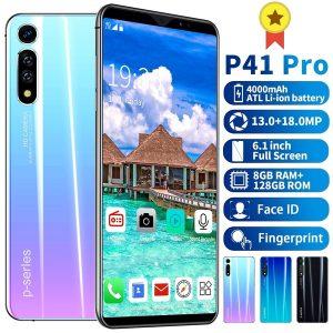 CELULAR P41 Pro + 6.1 Polegadas Android 9.1 Smartphone 8 GB + 128 GB Câmera Traseira Dupla HD Telefones Inteligentes Bluetooth MTK6763 10 Núcleos Dual SIM Cards Face / Desbloqueio de Impressão Digital Www.DUGEZZU.Com.Br ANTECIPE SUAS COMPRAS DEMORA ALGUNS DIAS PRA VOCE RECEBER FIQUE A VONTADE E BOAS COMPRAS …FRETE GRATIS                      EMPRESA facebook.com/dugezzurockshop/ QUER VER TODOS OS PRODUTOS ANTES DE COMPRAR www.facebook.com/dugezzu/photos_all………. FRETE GRATIS   Comprar em www.DUGEZZU.com.br ou no seu CELULAR ou AQUI na LOJA