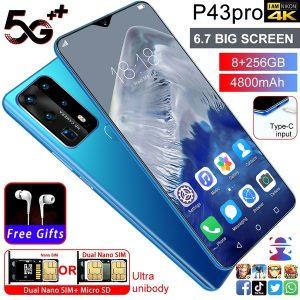 CELULAR Venda quente P43 Pro Mobilephone 6.7 polegada Tela de Gota de Água Impressão Digital Reconhecimento Facial 8G + 256G smartphone Www.DUGEZZU.Com.Br ANTECIPE SUAS COMPRAS DEMORA ALGUNS DIAS PRA VOCE RECEBER FIQUE A VONTADE E BOAS COMPRAS …FRETE GRATIS                      EMPRESA facebook.com/dugezzurockshop/ QUER VER TODOS OS PRODUTOS ANTES DE COMPRAR www.facebook.com/dugezzu/photos_all………. FRETE GRATIS   Comprar em www.DUGEZZU.com.br ou no seu CELULAR ou AQUI na LOJA
