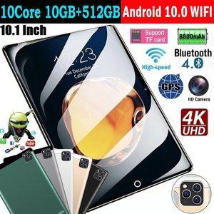 TABLET Mais recente 10,1 polegadas Ten Core WiFi Tablet PC Android 10.0 Arge 2560 * 1600 IPS Tela Dual SIM Câmera traseira traseira 13,0 MP IPS tablet Chamada Telefone Tablet Presentes (RAM 10G + ROM 512 GB) Tablet PC Tablet Www.DUGEZZU.Com.Br ANTECIPE SUAS COMPRAS DEMORA ALGUNS DIAS PRA VOCE RECEBER FIQUE A VONTADE E BOAS COMPRAS …FRETE GRATIS                      EMPRESA facebook.com/dugezzurockshop/ QUER VER TODOS OS PRODUTOS ANTES DE COMPRAR www.facebook.com/dugezzu/photos_all………. FRETE GRATIS   Comprar em www.DUGEZZU.com.br ou no seu CELULAR ou AQUI na LOJA