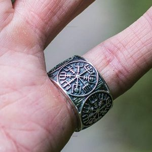 ANEL Nórdico do vintage dos homens Viking Vegvisir Anel de Aço Inoxidável 316L dos homens Rune Escandinavo Amuleto Anel de Jóias Www.DUGEZZU.Com.Br Boas Compras ANTECIPE SUAS COMPRAS DEMORA ALGUNS DIAS PRA VOCE RECEBER FIQUE A VONTADE E BOAS COMPRAS …FRETE GRATIS ENTREGAMOS EM SEU ENDEREÇO EM SEU CONFORTO Ou ONDE VC INDICAR EM TODO LUGAR  EMPRESA DUGEZZU.com.br… QUER VER TODOS OS PRODUTOS ANTES DE COMPRAR  www.facebook.com/dugezzu/photos_all………. FRETE GRATIS Comprar Em Www.DUGEZZU.Com.Br Ou No Seu CELULAR Ou AQUI Na LOJA digite O PRIMEIRO NOME DO PRODUTO DESEJADO Por Exemplo (CELULAR)