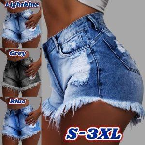 SHORTS Plus size senhoras das mulheres buracos de cintura alta borla shorts jeans curtos calças jeans mulheres lavadas Www.DUGEZZU.Com.Br Boas Compras ANTECIPE SUAS COMPRAS DEMORA ALGUNS DIAS PRA VOCE RECEBER FIQUE A VONTADE E BOAS COMPRAS …FRETE GRATIS ENTREGAMOS EM SEU ENDEREÇO EM SEU CONFORTO Ou ONDE VC INDICAR EM TODO LUGAR  EMPRESA facebook.com/dugezzurockshop… QUER VER TODOS OS PRODUTOS ANTES DE COMPRAR  www.facebook.com/dugezzu/photos_all………. FRETE GRATIS Comprar Em Www.DUGEZZU.Com.Br Ou No Seu CELULAR Ou AQUI Na LOJA digite O PRIMEIRO NOME DO PRODUTO DESEJADO Por Exemplo (CELULAR)