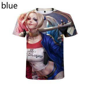 CAMISETA TOM T-shirt de mangas curtas com mangas curtas unissex mais recentes da moda em 3D impresso em 3D Harley Quinn    Www.DUGEZZU.Com.Br  A SUA LOJA VIRTUAL ALTERNATIVA NA INTERNET ACESSE E BOAS COMPRAS, AGORA COM PAGSEGURO ANTECIPE SUAS COMPRAS DEMORA ALGUNS DIAS PRA VOCE RECEBER FIQUE A VONTADE E BOAS COMPRAS …FRETE GRATIS EMPRESA – FONE/ZAP 67 9999-9-5555 Facebook.Com/Dugezzurockshop/ QUER VER TODOS OS PRODUTOS ANTES DE COMPRAR www.facebook.com/dugezzu/photos_all ………. FRETE GRATIS FAÇA SUA COMPRA AGORA Ou No Seu CELULAR Ou AQUI Na LOJA https://pagseguro.uol.com.br/operations/charging.jhtml……..