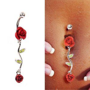 PIERCING VM Sexy Body Piercing Jewelry Crystal Rose Dangle Navel Belly Button Bar Barbell Ring Body Piercing    Www.DUGEZZU.Com.Br  A SUA LOJA VIRTUAL ALTERNATIVA NA INTERNET ACESSE E BOAS COMPRAS, AGORA COM PAGSEGURO ANTECIPE SUAS COMPRAS DEMORA ALGUNS DIAS PRA VOCE RECEBER FIQUE A VONTADE E BOAS COMPRAS …FRETE GRATIS EMPRESA – FONE/ZAP 67 9999-9-5555 Facebook.Com/Dugezzurockshop/ QUER VER TODOS OS PRODUTOS ANTES DE COMPRAR www.facebook.com/dugezzu/photos_all ………. FRETE GRATIS FAÇA SUA COMPRA AGORA Ou No Seu CELULAR Ou AQUI Na LOJA https://pagseguro.uol.com.br/operations/charging.jhtml……..