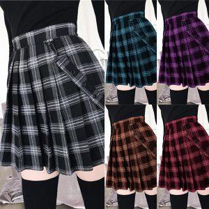 SAIA UMM Girls Cute School Uniform Mini Skirts 2020 Autumn Winter Women Fashion Gothic Black Plaid Skirts Plus Size High Wasit Pleated Www.DUGEZZU.Com.Br  A SUA LOJA VIRTUAL ALTERNATIVA NA INTERNET ACESSE E BOAS COMPRAS, AGORA COM PAGSEGURO ANTECIPE SUAS COMPRAS DEMORA ALGUNS DIAS PRA VOCE RECEBER FIQUE A VONTADE E BOAS COMPRAS …FRETE GRATIS EMPRESA – FONE/ZAP 67 9999-9-5555 DUGEZZU.com.br QUER VER TODOS OS PRODUTOS ANTES DE COMPRAR www.facebook.com/dugezzu/photos_all ………. FRETE GRATIS FAÇA SUA COMPRA AGORA Ou No Seu CELULAR Ou AQUI Na LOJA https://pagseguro.uol.com.br/oper…/charging.jhtml……..