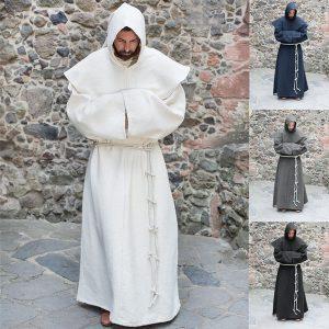 SOBRETUDO UVM Manto masculino da moda medieval sacerdote monge capa com capuz capa de fantasia cosplay de halloween para feiticeiro feiticeiro    Www.DUGEZZU.Com.Br  A SUA LOJA VIRTUAL ALTERNATIVA NA INTERNET ACESSE E BOAS COMPRAS, AGORA COM PAGSEGURO ANTECIPE SUAS COMPRAS DEMORA ALGUNS DIAS PRA VOCE RECEBER FIQUE A VONTADE E BOAS COMPRAS …FRETE GRATIS EMPRESA – FONE/ZAP 67 9999-9-5555 Facebook.Com/Dugezzurockshop/ QUER VER TODOS OS PRODUTOS ANTES DE COMPRAR                                                                                                www.facebook.com/dugezzu/photos_all ………. FRETE GRATIS FAÇA SUA COMPRA AGORA Ou No Seu CELULAR Ou AQUI Na LOJA                            https://pagseguro.uol.com.br/oper…/charging.jhtml……..